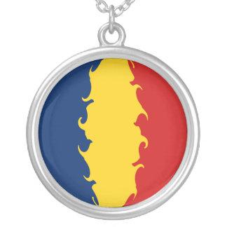 Gnarly Flagge Tschads Halskette