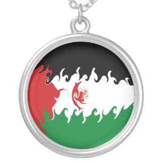 Gnarly Flagge Westsaharas Personalisierter Schmuck
