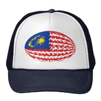 Gnarly Flaggen-Hut Malaysias Retro Cap