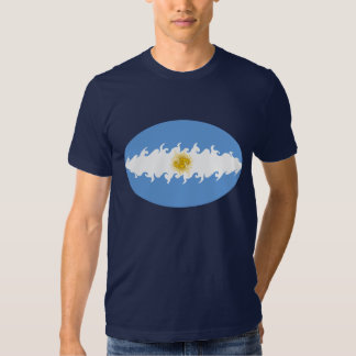 Gnarly Flaggen-T - Shirt Argentiniens