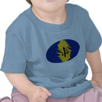 Gnarly Flaggen-T - Shirt Barbados