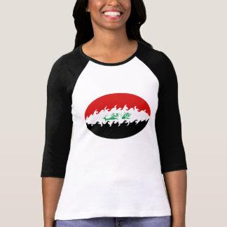 Gnarly Flaggen-T - Shirt des Iraks