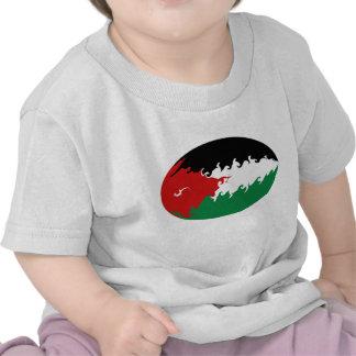 Gnarly Flaggen-T - Shirt Jordaniens