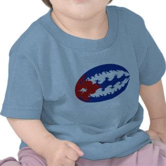 Gnarly Flaggen-T - Shirt Kubas