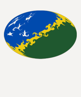 Gnarly Flaggen-T - Shirt Solomon Island