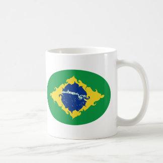 Gnarly Flaggen-Tasse Brasiliens