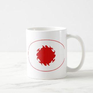 Gnarly Flaggen-Tasse Japans