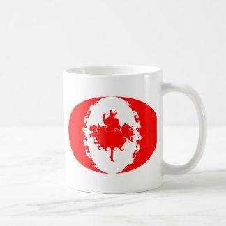 Gnarly Flaggen-Tasse Kanadas