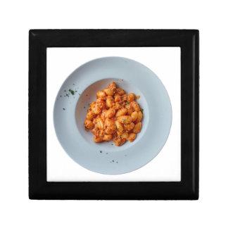 gnocchi mit Fleischsoße Schmuckschachtel