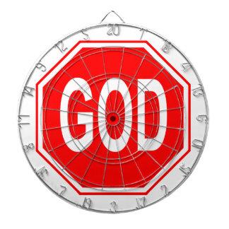 GOD - Dartboard Dartscheibe
