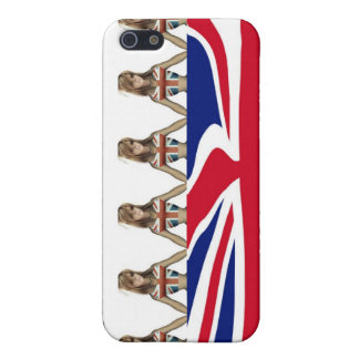 God Save the Queen iphone Fall iPhone 5 Case
