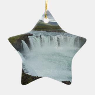 Godafoss Keramik Stern-Ornament