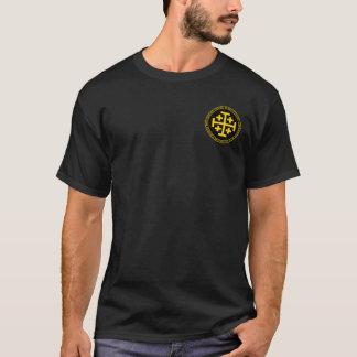 Godfrey De Bouillon Black u. GoldSiegel-Shirt T-Shirt