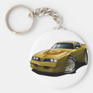 Gold 1977-78 Transportes morgens Schlüsselanhänger