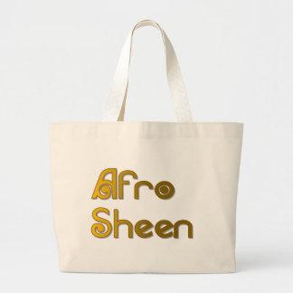 Gold AfroSheen Sist- Jumbo Stoffbeutel
