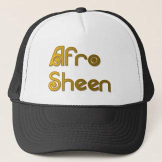Gold AfroSheen Sist- Truckerkappe
