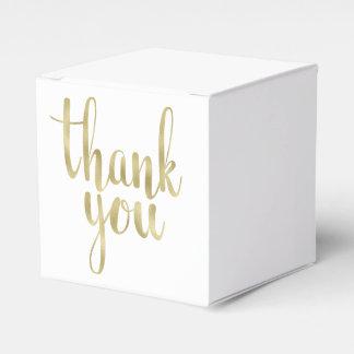 Gold danken Ihnen, Kästen, Folie zu bevorzugen Geschenkschachteln