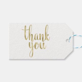 Gold danken Ihnen, Umbauten, die Folie zu Geschenkanhänger