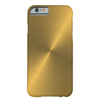 Gold Barely There iPhone 6 Hülle