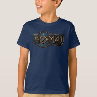 Gold- u. Marmor NO-Major Badge T-Shirt