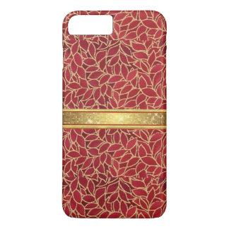 Gold und Kupfer entwirft iPhone 7 Plusfall iPhone 7 Plus Hülle