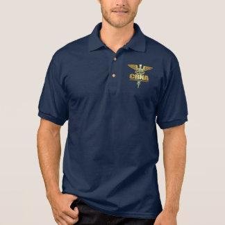 GoldCaduceus (CRNA) Poloshirt