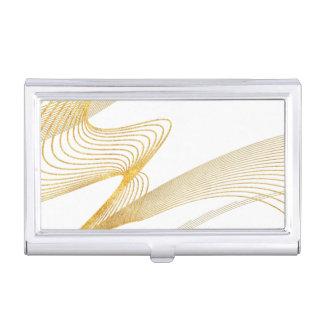 Goldeleganter kundenspezifischer Visitenkarten-Schatullen