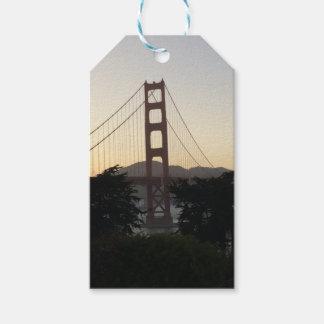 Golden gate bridge am Sonnenuntergang Geschenkanhänger