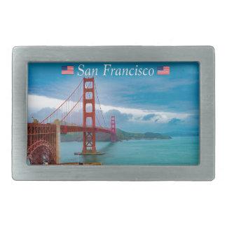 Golden gate bridge San Francisco Rechteckige Gürtelschnalle