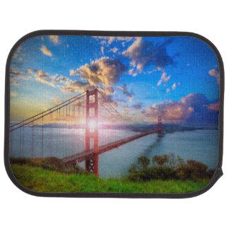 Golden Gate-Sonnenaufgang Automatte