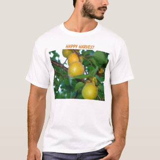 Goldene Aprikosen, GLÜCKLICHE ERNTE T-Shirt