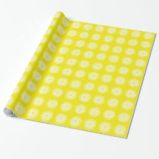 Goldene gelbe asiatische Stimmungen Mandalla Geschenkpapier