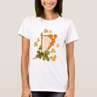 GOLDENE IRISCHE HARFE T-Shirt