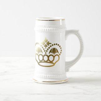 Goldene Krone Bierglas
