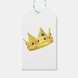 Goldene Krone Geschenkanhänger