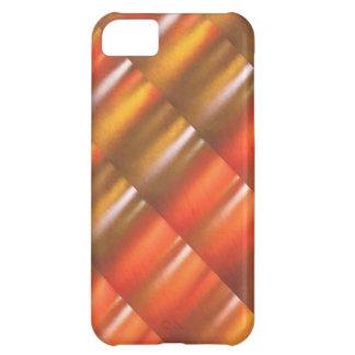 Goldene rote Schein-Schatten - ColorCraft iPhone 5C Hülle