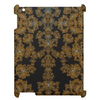 Goldene Spitze auf Brown iPad Hülle