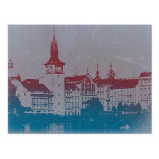 Goldene Stadt Prags Postkarten
