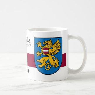 Goldener Greif von Rezekne Lettland Tasse