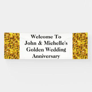 Goldener Hochzeitstag Special   personifizieren Banner