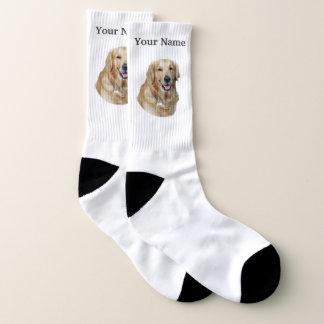Goldener Labrador-Hund Socken