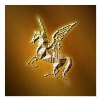 Goldener Pegasus Poster