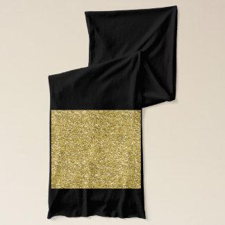 Goldener Schimmer-Glitzer Schal