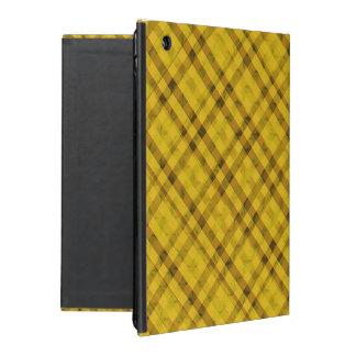 Goldener Sun kariert - kundenspezifischer iPad Schutzhülle Fürs iPad