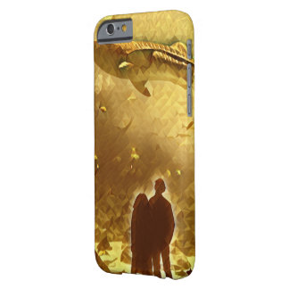 Goldener Walkasten Barely There iPhone 6 Hülle