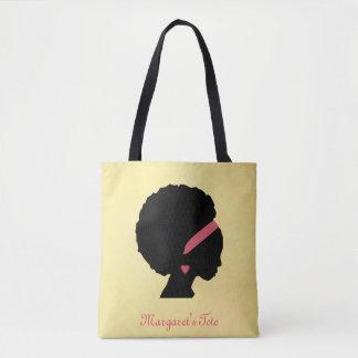 Goldenes Farbentwurf Afrohaar