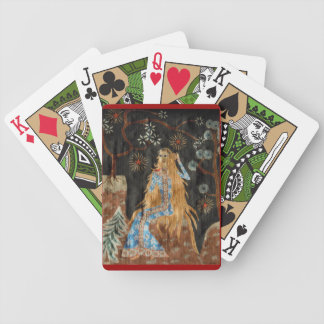 Goldenes Haar Pokerkarten