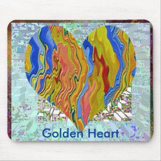 Goldenes Herz 2 - Poker-Meister Mauspad