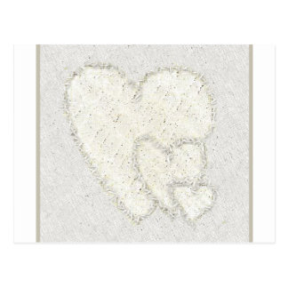 Goldenes Herz-Trio Postkarte