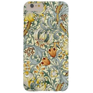 Goldenes Lilien iPhone 6/6S plus kaum dort Barely There iPhone 6 Plus Hülle